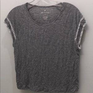 American eagle lace t shirt